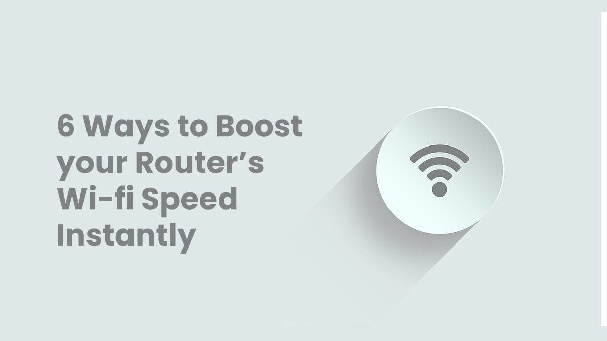 boost your routers