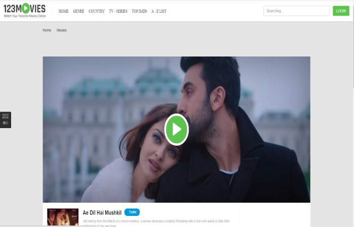 How to Watch Ae Dil Hai Mushkil Full Movie Watch Online 123Movies