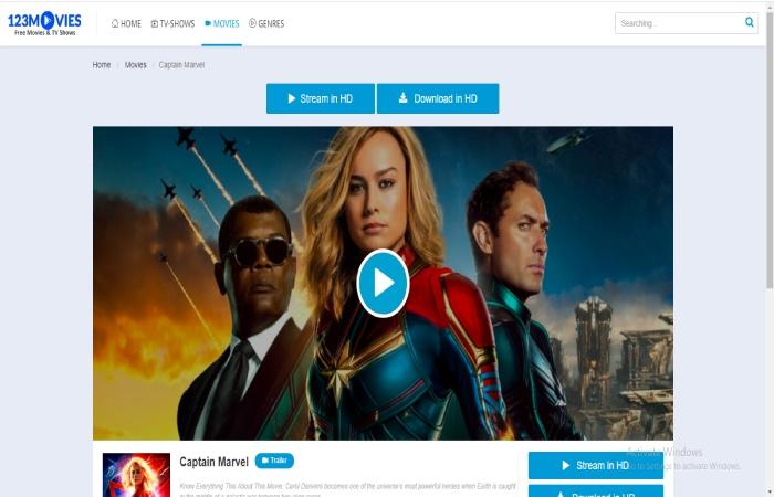 123Movies - Watch Captain Marvel 123movies