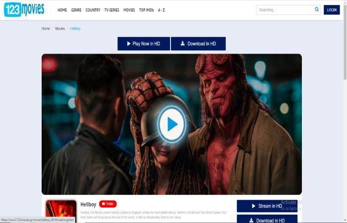 Hellboy 2019 123Movies