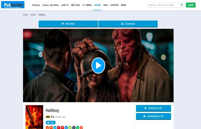 Hellboy 2019 Putlocker