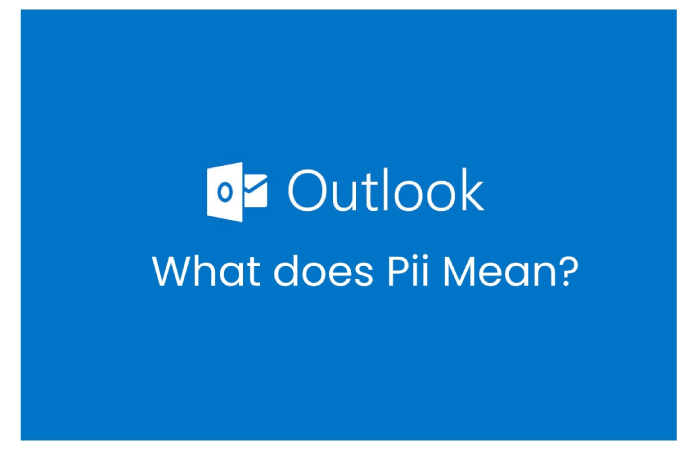 What does Pii Mean