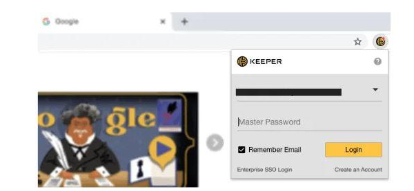 Secure Your Windows - Browser Extension of Keeper Password Manager